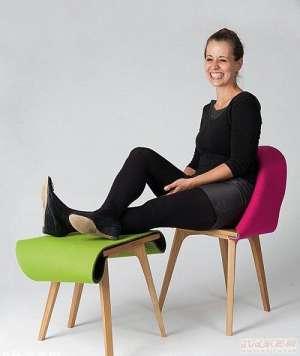 创意设计能变形的椅子清管器